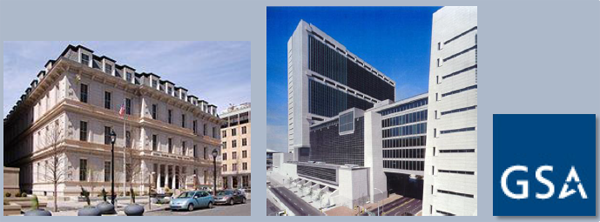 side-by-side GSA buildings