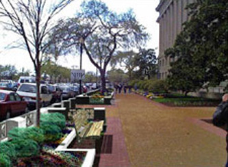 New concept design for security at the Federal Triangle, Washington, DC