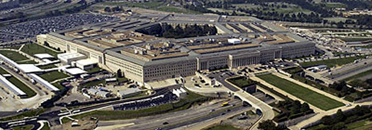 Aerial photo of Pentagon