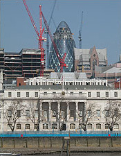 Norman Foster's Swiss Re Headquarters in London