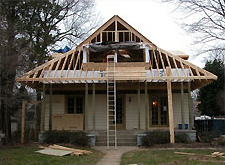 Photo of house renovation/construction