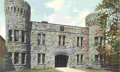 Photo of Newport, Rhode Island Armory, 1894