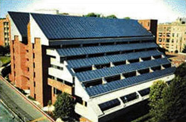 Bunn Intercultural Center Solar Array, Georgetown University, DC
