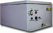 Photo of Ion mobility spectrometry (IMS) chemical detector designed for installation in HVAC Systems