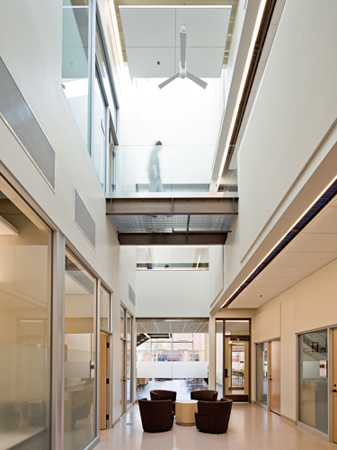 Chemeketa Community College Health Sciences Complex lobby
