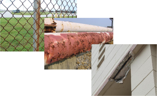 Examples of corrosion</p>