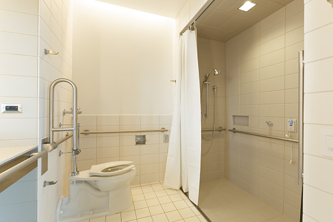 Bathroom POD at Christ Hospital Joint and Spine Center