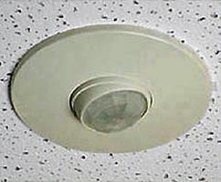Ex&le of a ceiling-mounted occupancy sensor  sc 1 st  WBDG & Electric Lighting Controls | WBDG Whole Building Design Guide azcodes.com