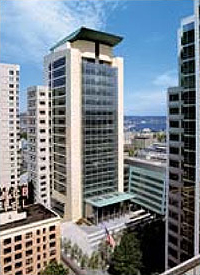 Photo of U.S. Courthouse in Seattle which won a GSA 2004 Citation Award