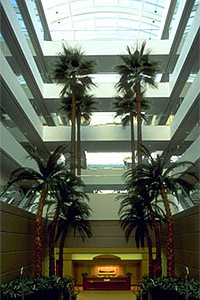 Example of a multiple lateral atrium design at the EDS Corporate Headquarters-Plano, TX