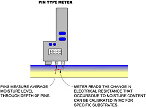 Photo of a pin type meter