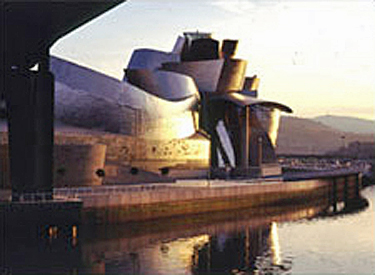 Photo of the Guggenheim Museum, Bilbao, Spain
