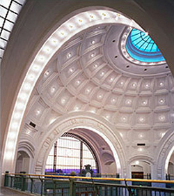 Photo of U.S. Courthouse at Union Station rotunda in Tacoma, WA