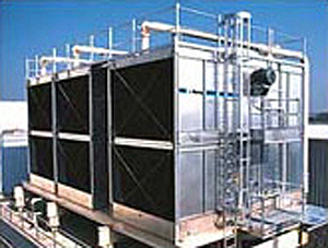 Photo of a cooling tower