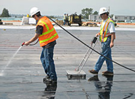 Integrity Testing for Roofing and Waterproofing Membranes | WBDG