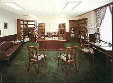 Photo of inside of a typical judicial chambers