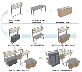 Casework illustration examples