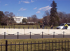 View of White House from the Ellipse