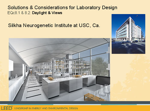 EQ credit 8.1 and 8.2: Silkha Neurogenetic Institute of USC, Ca.