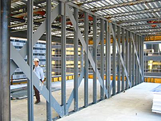 panelized shear wall system