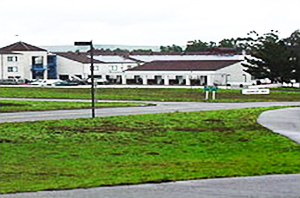 Exterior of the U.S. Coast Guard (USCG) Training Center in Petaluma, California