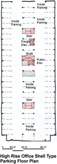parking basement wbdg whole building design guide
