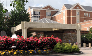 Exterior photo of Salem VA Medical Center, Salem, VA