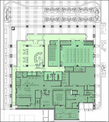 Layout Of Room Service