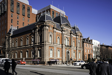 Photgraph From 2015 Of The Main Elevation Of The Renwick Gallery,  Smithsonian American Art Museum