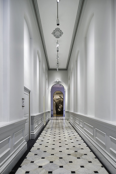First floor corridor of the Renwick Gallery.