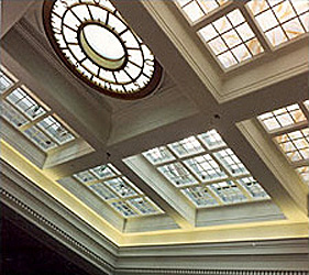 Skylight at Original Letter Handling Room: Byron White Courthouse; Denver, Colorado