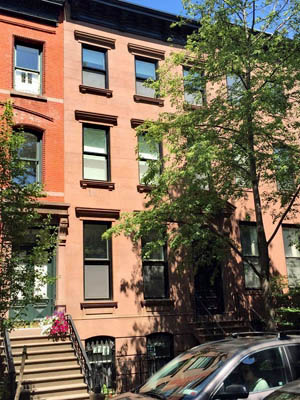Landmarked 1901 brownstone located on Garden Place in Brooklyn Heights