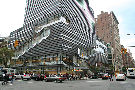 The New School, New York City - Example of Active Design