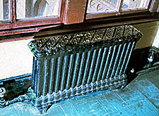 Photo of historic radiator