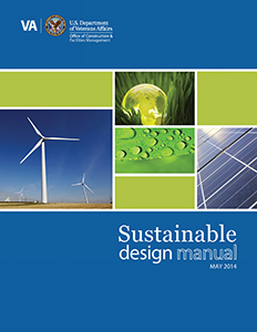 Cover of the VA Sustainable Design Manual, May 2014