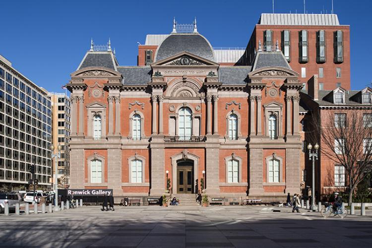 the renwick gallery of the smithsonian american art museum